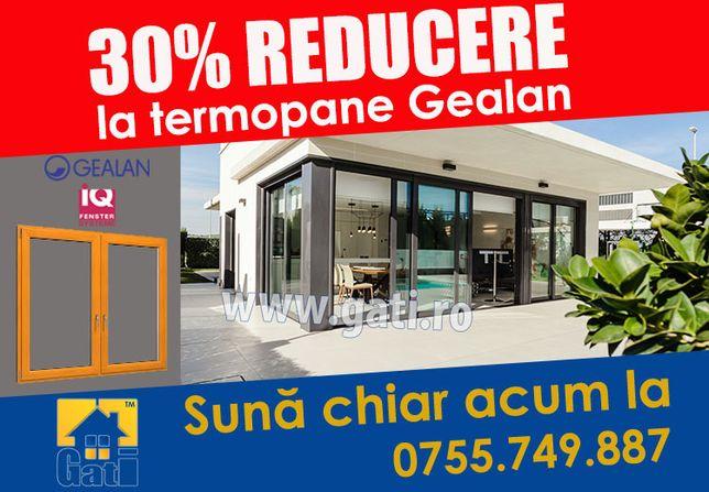 Închidere Balcon cu tâmplărie PVC Gealan // Azi 30% REDUCERE