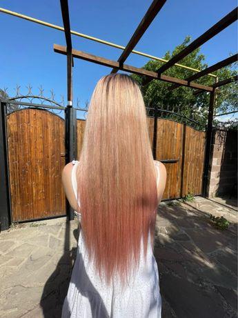 Волосы для наращивания блонд