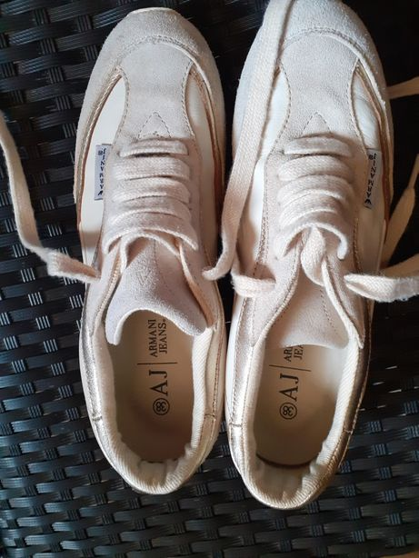 Adidasi Armani Jeans, marimea 38, piele, unisex