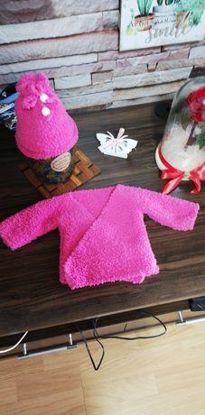 Set caciuliță și pulovăr bebe