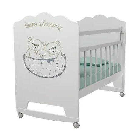 Детская кроватка маятник с ящиком(ВДК)Манеж для новорожденных