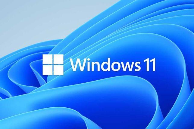 Instalare Sistem Windows 11 Licenta Originala + Factura 800 Lei