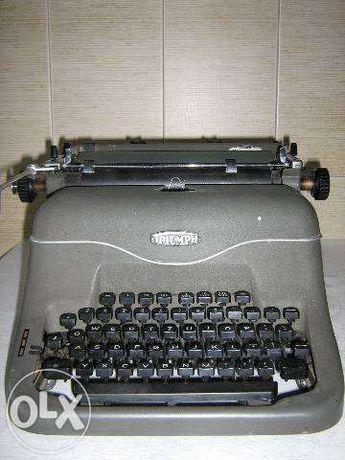 Maşină veche de scris Triumph-Matura