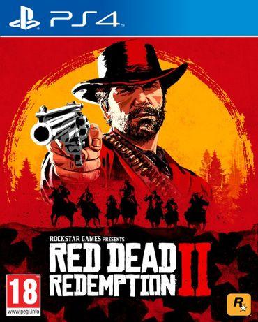 Red Dead Redemption 2 (RDR 2) PlayStation 4 новый\лицензионный\русский