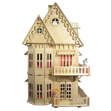 Отличный подарок! Деревянный домик для кукол