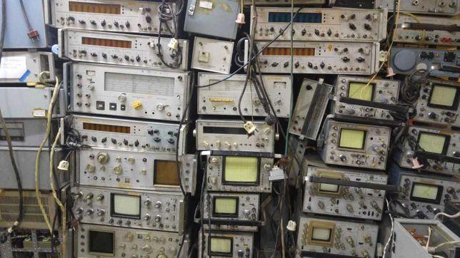 Принимаем  радиодетали новый и б/у КИП из СССР измерители АЧХ,КСВН