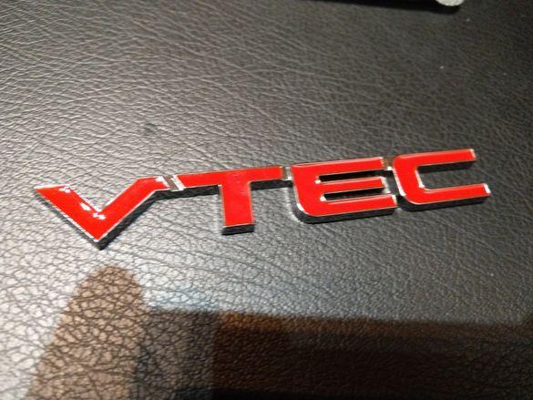 Емблема VTEC Honda