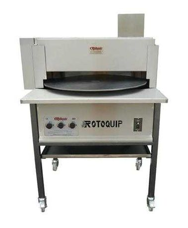 ROTOQUIP GAZ - Masina automata rotativa de facul lipii, focaccia