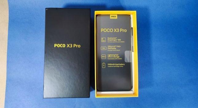 Продается телефон Poco x3pro 8/256