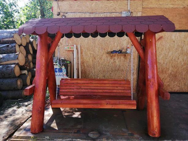Leagan din lemn / fantana rustica