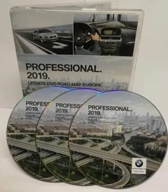 DVD Диск навигация BMW Navi Professional Europe 2019