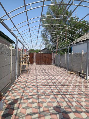 Узбек бригада с нуля коттедж дом новес забор баня и т г