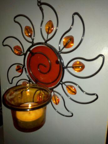 Свещници за стена и за Хелоуин свещник -тиква