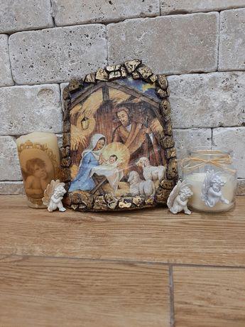 """Декоративна керемида """" Рождество Христово"""""""