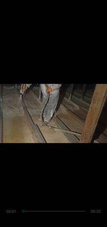 Ппу утепление крыш мансарды домов методом напыления Пенополиуретаном