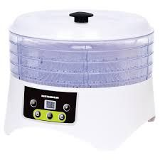 Deshidrator de alimente Heinner HFD-404TD, Display LED, 400 W, 4 Tavi,