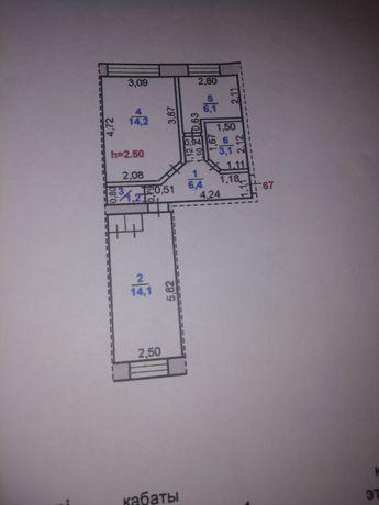 Продам двух комнатную квартиру