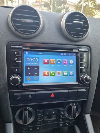 Navigatie audi a3 s3 7inch android 10 4gd ram 64 rom  Erisin 8147