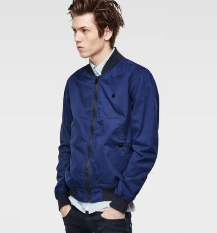 G-Star Raw Shattor bomber jacket color imperial blue L