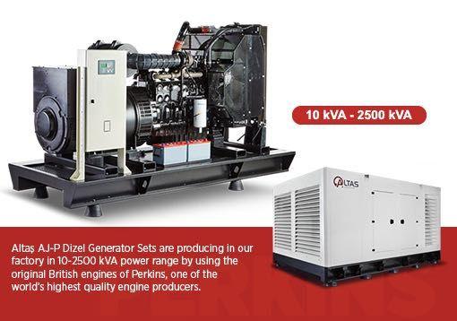 Comercializam gama completa de Generatoare Diesel 10kWA - 2500 kWA