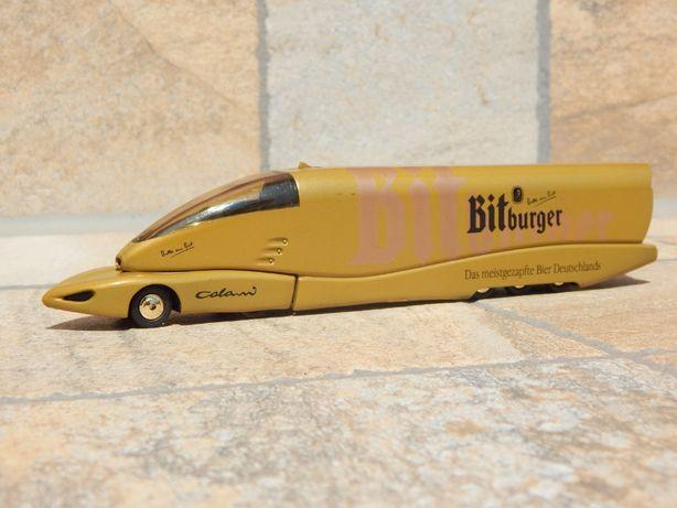 Macheta concept camion Mercedes transport Bitburger 1:87