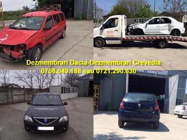 Dezmembrari Dacia Logan motor,cutie,planetara,usi,faruri Dez Crevedia