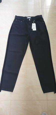 Черни дънки Mango, размер 40