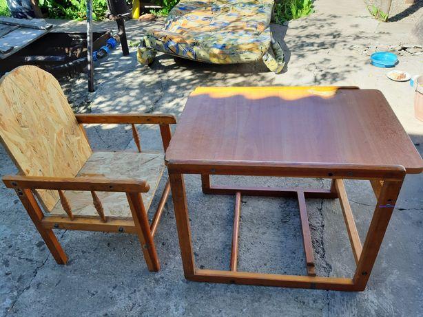 Продам стол трансформер детский