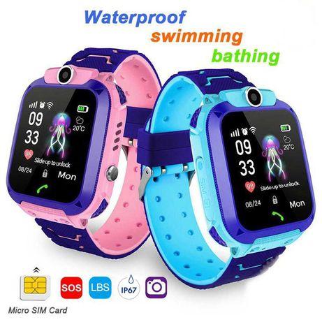 Ceas smartwatch GPS copii Smart baby Watch Q12, camera