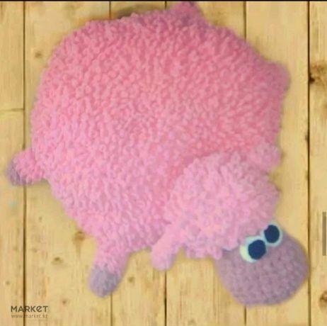 Игрушка-подушка барашек