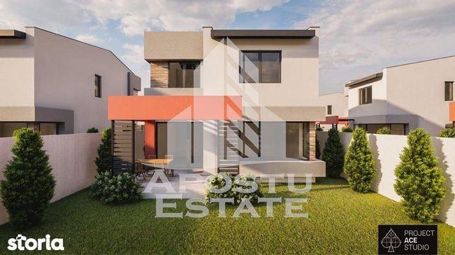 Casa individuala superba, noua, cu un proiect deosebit, 4 camere, Giro