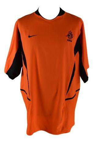Tricou Barbati Fotbal Nike KNVB Olanda Marimea XXL Portocaliu XZ30