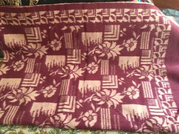 Вълнени одеяла единични
