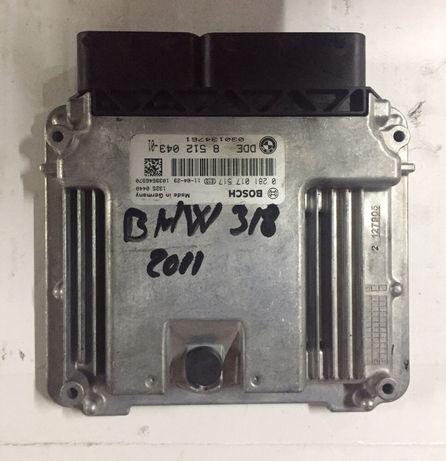 Kit pornire ECU Bmw E90 318D 143CP EURO5 Cod. 8512043
