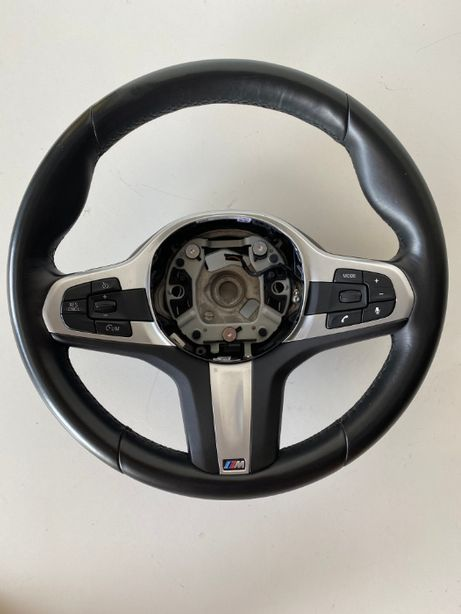Volan M Sport BMW Seria 5 G30/G31 ;Seria 6/ G32GT Piele, Pilot automat