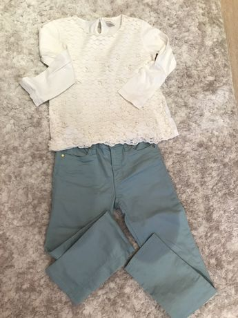 "Панталонче на ""H&M"" и блузка на ""Zara"""