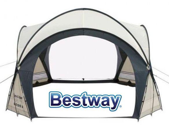 Тента беседка шатра на фирмата BESTWAY 3.90м-3.90м-2.55м