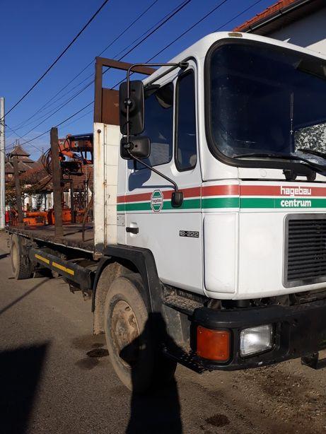 Camion cu macara forestiera