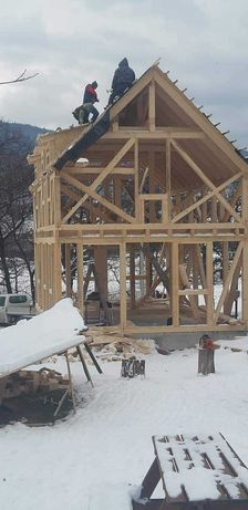 cabane lemn, casute de vacanta, foisor , case pe structura usoara