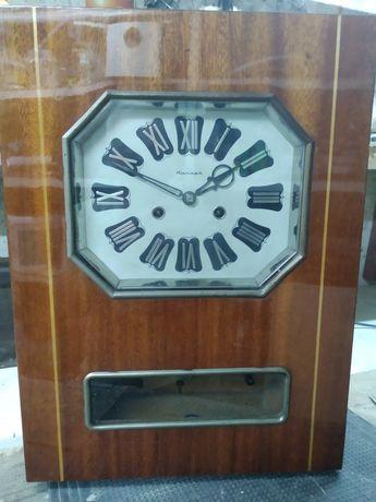 Часы ЯНТАРЬ. Механические. С боем. Рабочие. Обмен на часы.