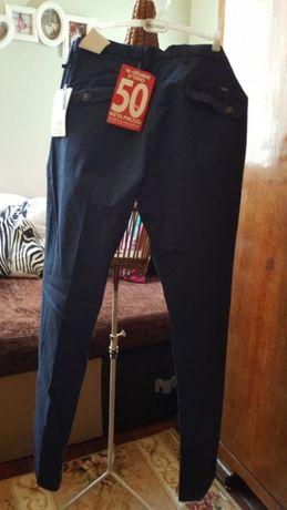 Slim fit-Мъжки спортно елегантен панталон