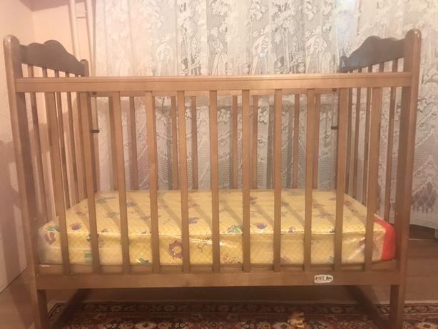Продам детскую кровать (матрац новый в упаковке)