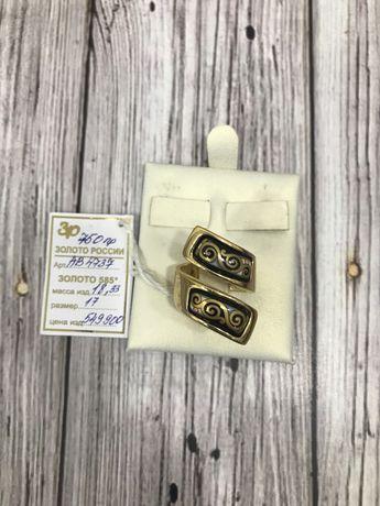 золотое кольцо АВ4737