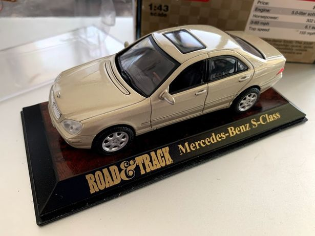 macheta Mercedes Benz S Klasse W220 collector edition 1:43 sampanie