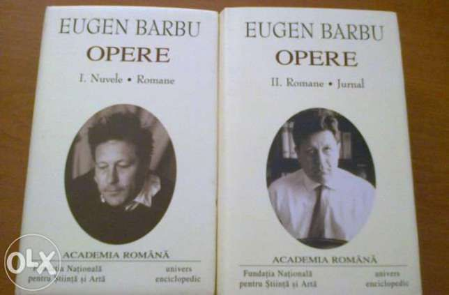 Eugen Barbu - Opere vol. 1, 2 stare foarte buna 2006