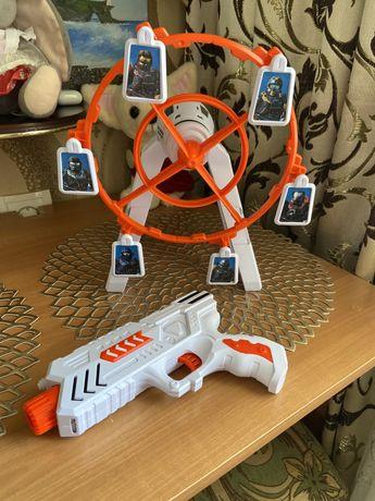 игрушка цель и пистолет