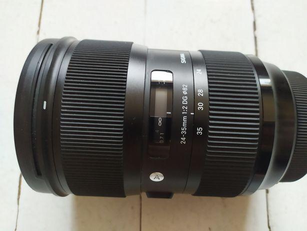 Canon - Sigma art 24-35 mm f 2,0