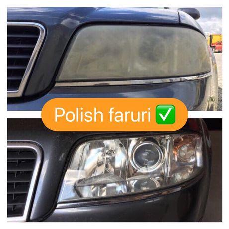 Polish faruri, folie protectie faruri