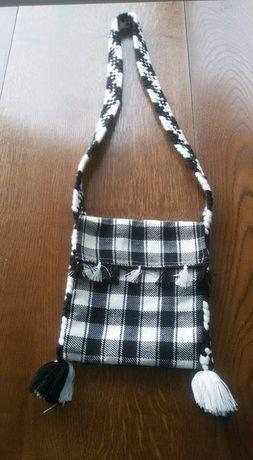 Traista/poșetă/geanta tradiționala de Maramureș.