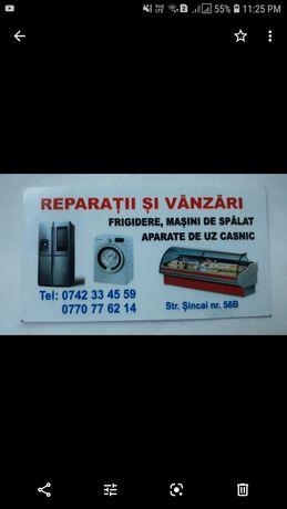 Reparatii frigidere masini de spalat